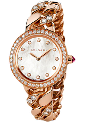 Bulgari Watches - Bulgari Bulgari 31 mm - Pink Gold - Catene Bracelet - Style No: 102037 BBCP31WGDGD1.1T/12