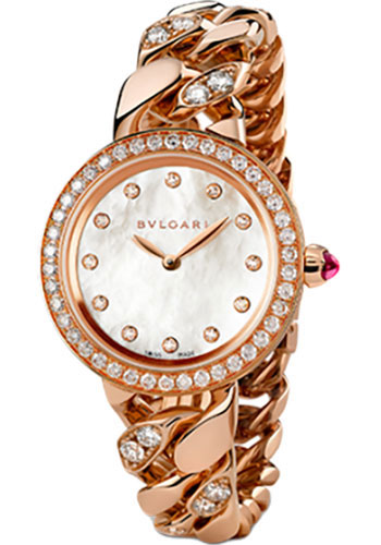 Bulgari Watches - Bulgari Bulgari 31 mm - Pink Gold - Catene Bracelet - Style No: 102037 BBCP31WGDGD1.2T/12