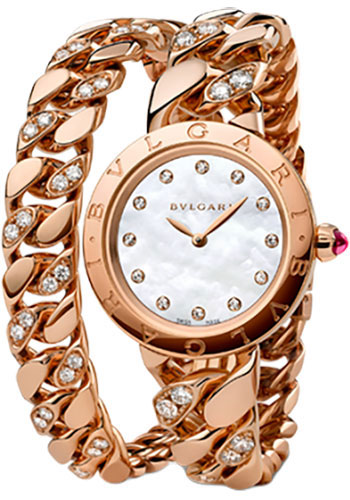 Bulgari Watches - Bulgari Bulgari 31 mm - Pink Gold - Catene Bracelet - Style No: 102038 BBCP31WGGD1.2T/12
