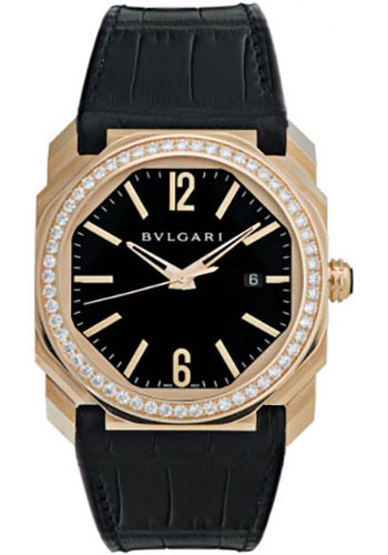 Bulgari Watches - Octo 41 mm - Pink Gold - Style No: 102039 BGOP41BGDLD