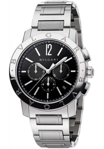 Bulgari Watches - Bulgari Bulgari 41 mm - Stainless Steel - Bracelet - Style No: 102045 BB41BSSDCH