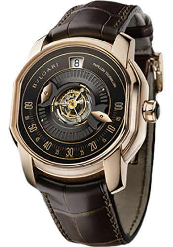 Bulgari Watches - Daniel Roth 45 mm - Pink Gold - Style No: 102074 BRRP45BGLTBPAP