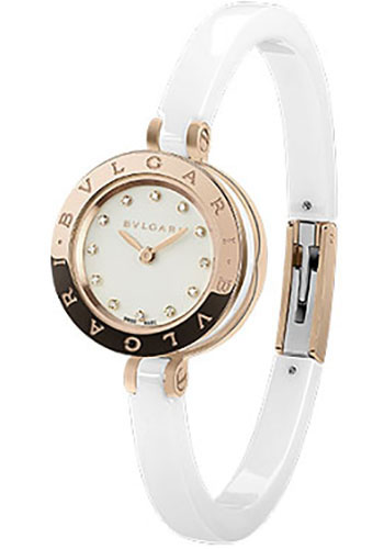 Bulgari Watches - B.zero1 23 mm - Pink Gold - Style No: 102088 BZ23WSGCC/12.M