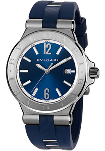 Bulgari Watches - Diagono 42 mm - Stainless Steel - Style No: 102102 DG42C3SVD