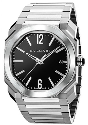 Bulgari Watches - Octo 38 mm - Stainless Steel - Style No: 102104 BGO38BSSD
