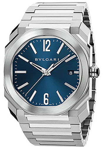 Bulgari Watches - Octo 38 mm - Stainless Steel - Style No: 102105 BGO38C3SSD