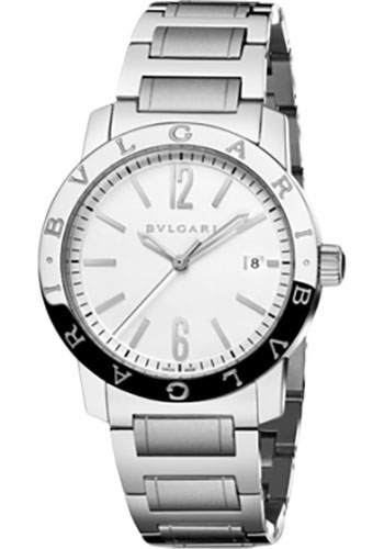 Bulgari Watches - Bulgari Bulgari 39 mm - Stainless Steel - Bracelet - Style No: 102110 BB39WSSD