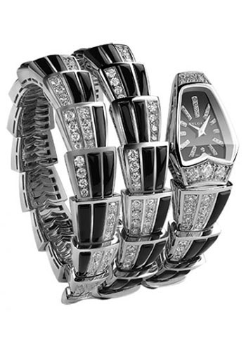 Bulgari Watches - Serpenti 26 mm - White Gold - Style No: 102112 SPW26BGD1GD1O.2T