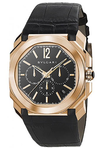 Bulgari Watches - Octo 41 mm - Pink Gold - Style No: 102115 BGOP41BGLDCH