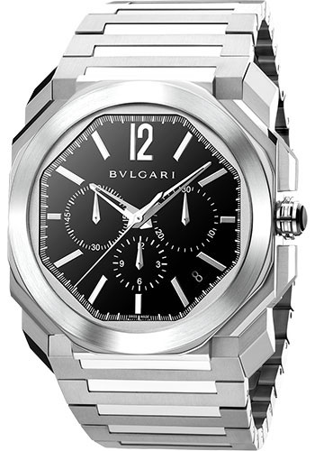 Bulgari Watches - Octo Chronograph - 41 mm - Stainless Steel - Style No: 102116