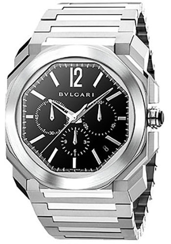 Bulgari Watches - Octo 41 mm - Stainless Steel - Style No: 102116 BGO41BSSDCH