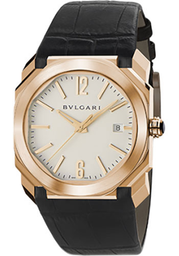 Bulgari Watches - Octo 38 mm - Pink Gold - Style No: 102119 BGOP38WGLD