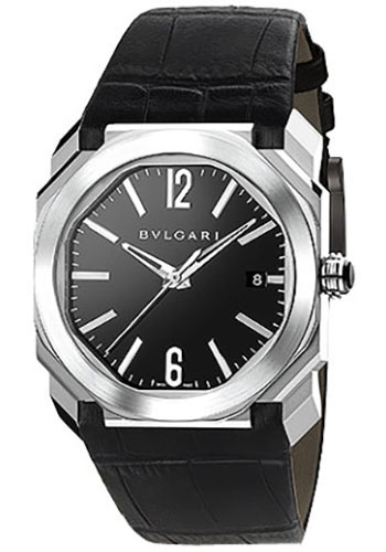Bulgari Watches - Octo 38 mm - Stainless Steel - Style No: 102121 BGO38BSLD