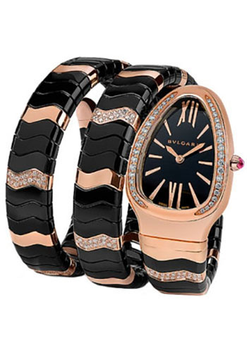 Bulgari Watches - Serpenti 35 mm - Pink Gold - Style No: 102128 SPP35BGDBCGD1.2T