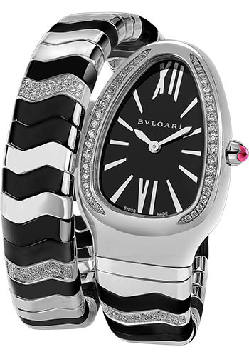 Bulgari Watches - Serpenti 35 mm - Stainless Steel - Style No: 102129 SP35BSDBCSD1.1T
