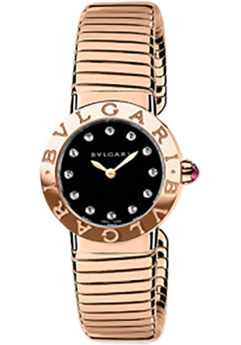 Bulgari Watches - Bulgari Bulgari 26 mm - Pink Gold - Tobogas Bracelet - Style No: 102146 BBLP262TBGG/12.M