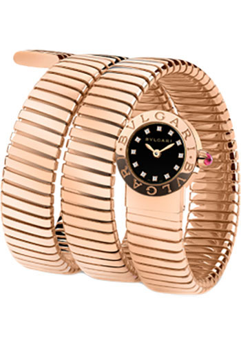 Bulgari Watches - Bulgari Bulgari 19 mm - Pink Gold - Tobogas Bracelet - Style No: 102150 BBLP191TBGG/12
