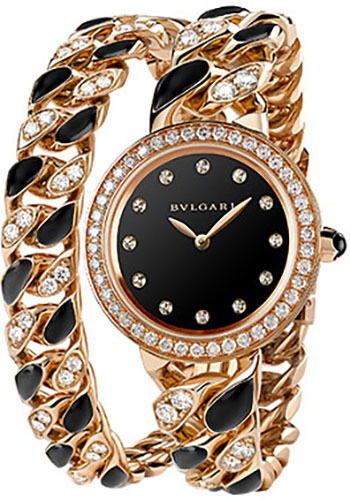 Bulgari Watches - Bulgari Bulgari 31 mm - Pink Gold - Catene Bracelet - Style No: 102169 BBCP31BGDO.2T/12