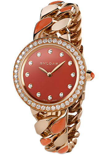 Bulgari Watches - Bulgari Bulgari 31 mm - Pink Gold - Catene Bracelet - Style No: 102170 BBCP31C8GDGCO.1T/1