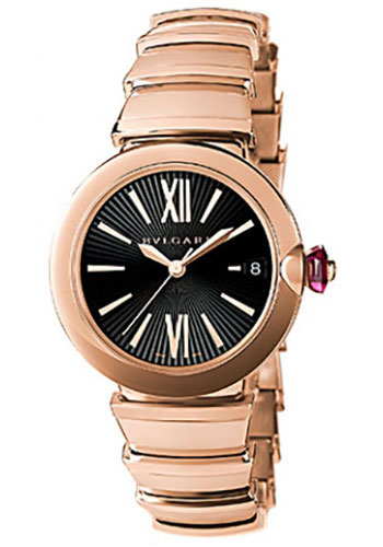 Bulgari Watches - Lucea 33 mm - Pink Gold - Style No: 102190 LUP33BGGD