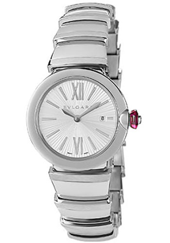 Bulgari Watches - Lucea 28 mm - Stainless Steel - Style No: 102195 LU28C6SSD