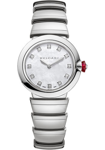 Bulgari Watches - Lucea 28 mm - Stainless Steel - Style No: 102196
