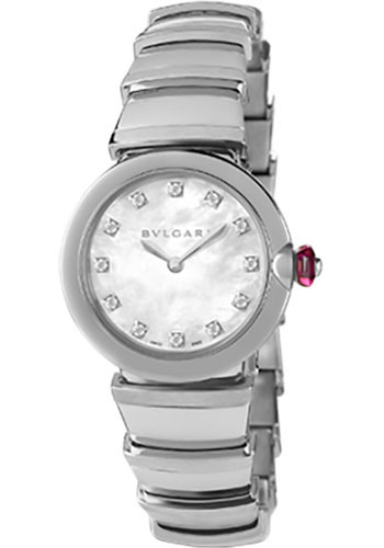Bulgari Watches - Lucea 28 mm - Stainless Steel - Style No: 102196 LU28WSS/12