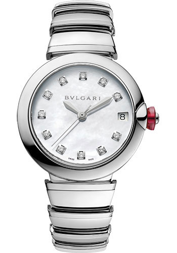 Bulgari Watches - Lucea 33 mm - Stainless Steel - Style No: 102199