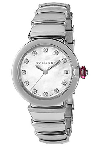Bulgari Watches - Lucea 33 mm - Stainless Steel - Style No: 102199 LU33WSSD/11