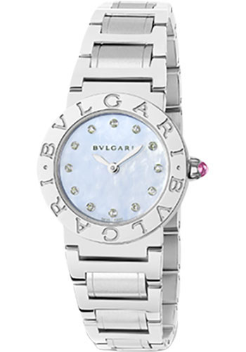 Bulgari Watches - Bulgari Bulgari 26 mm - Stainless Steel - Bracelet - Style No: 102200 BBL26C3SS/12