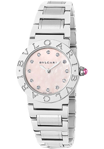 Bulgari Watches - Bulgari Bulgari 26 mm - Stainless Steel - Bracelet - Style No: 102201 BBL26C2SS/12