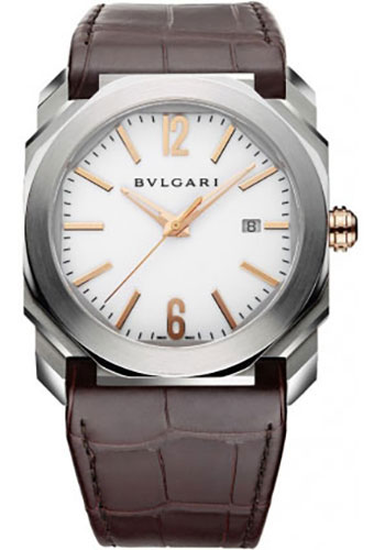Bulgari Watches - Octo 41 mm - Stainless Steel - Style No: 102207 BGO41WSLD