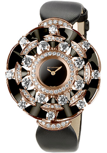 Bulgari Watches - Diva 39 mm - Pink Gold - Style No: 102216 DVP39BGD1OL