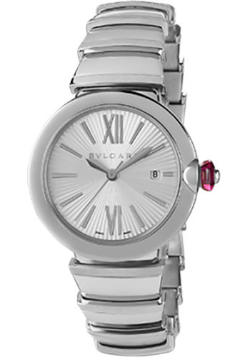 Bulgari Watches - Lucea 33 mm - Stainless Steel - Style No: 102219 LU33C6SSD