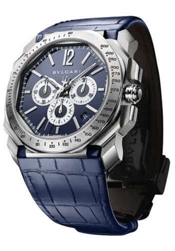 Bulgari Watches - Octo Chronograph - 41 mm - Stainless Steel - Style No: 102229 BGO41C3SLDCH/MAS