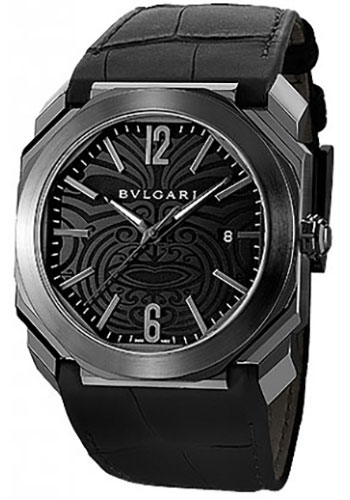 Bulgari Watches - Octo 41 mm - Black Steel - Style No: 102249 BGO41BSBLD/AB