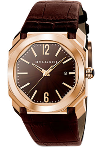 Bulgari Watches - Octo 41 mm - Pink Gold - Style No: 102250 BGOP41C11GLD