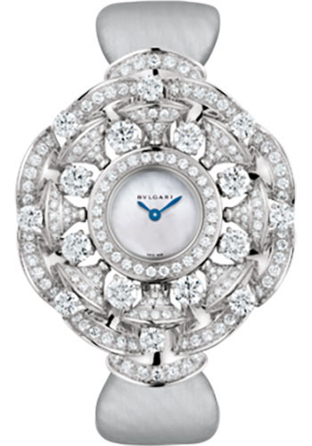 Bulgari Watches - Diva 39 mm - White Gold - Style No: 102254 DVW39WGD2L