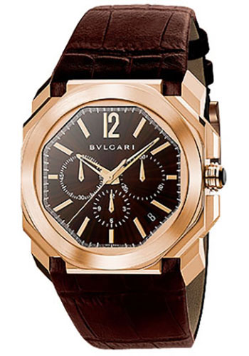 Bulgari Watches - Octo 41 mm - Pink Gold - Style No: 102259 BGOP41C11GLDCH