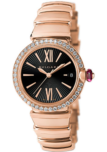 Bulgari Watches - Lucea 33 mm - Pink Gold - Style No: 102260 LUP33BGDGD