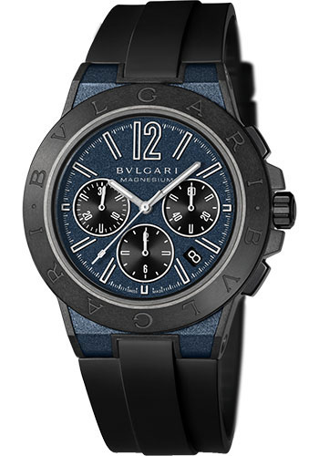 Bulgari Watches - Diagono 42 mm - Magnesium - Style No: 102304 DG42C3SMCVDCH