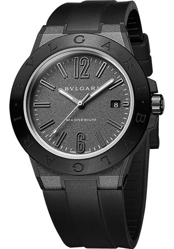 Bulgari Watches - Diagono 41 mm - Magnesium - Style No: 102307 DG41C14SMCVD