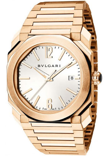 Bulgari Watches - Octo 38 mm - Pink Gold - Style No: 102318 BGOP38WGGD