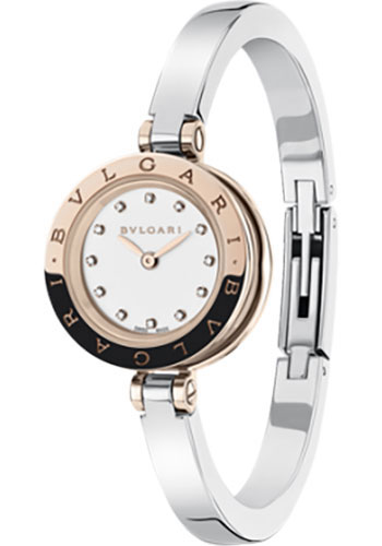 Bulgari Watches - B.zero1 23 mm - Steel and Rose Gold - Style No: 102320 BZ23WSGS/12.M