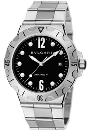 Bulgari Watches - Diagono Scuba 41 mm - Stainless Steel - Style No: 102323 DP41BSSSD