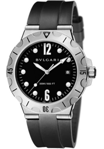 Bulgari Watches - Diagono Scuba 41 mm - Stainless Steel - Style No: 102324 DP41BSVSD