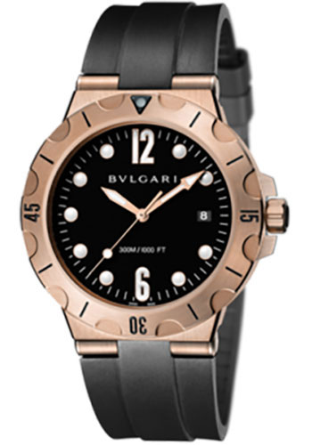 Bulgari Watches - Diagono Scuba 41 mm - Pink Gold - Style No: 102326 DPP41BGVSD