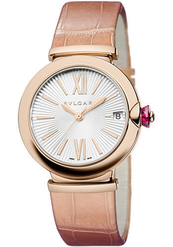 Bulgari Watches - Lucea 33 mm - Pink Gold - Style No: 102328