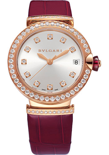 Bulgari Watches - Lucea 33 mm - Pink Gold - Style No: 102329