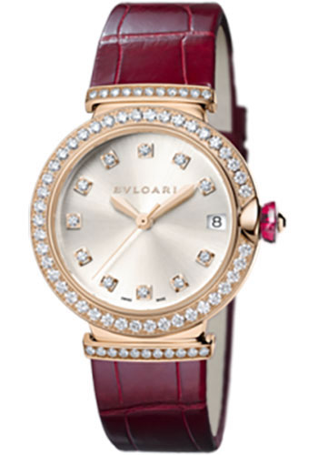 Bulgari Watches - Lucea 33 mm - Pink Gold - Style No: 102329 LUP33C6GDLD/11